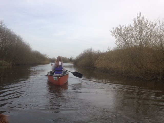 Canoe trails from Alderfen Marshes