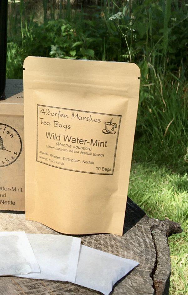 Mint tea bags pocket pack