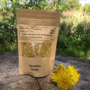Wild Dandelion Flower Tea: 10g Loose Leaf