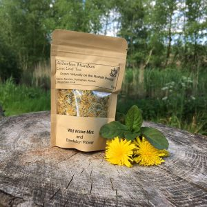 Wild Water-Mint and Dandelion Flower Tea: 10g Loose Leaf