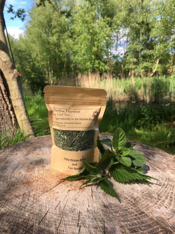Mint and Nettle Loose Leaf Tea