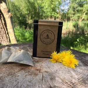 Wild Dandelion Flower: Eco-Friendly Teabags