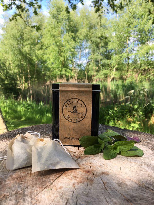 Eco-friendly mint teabags