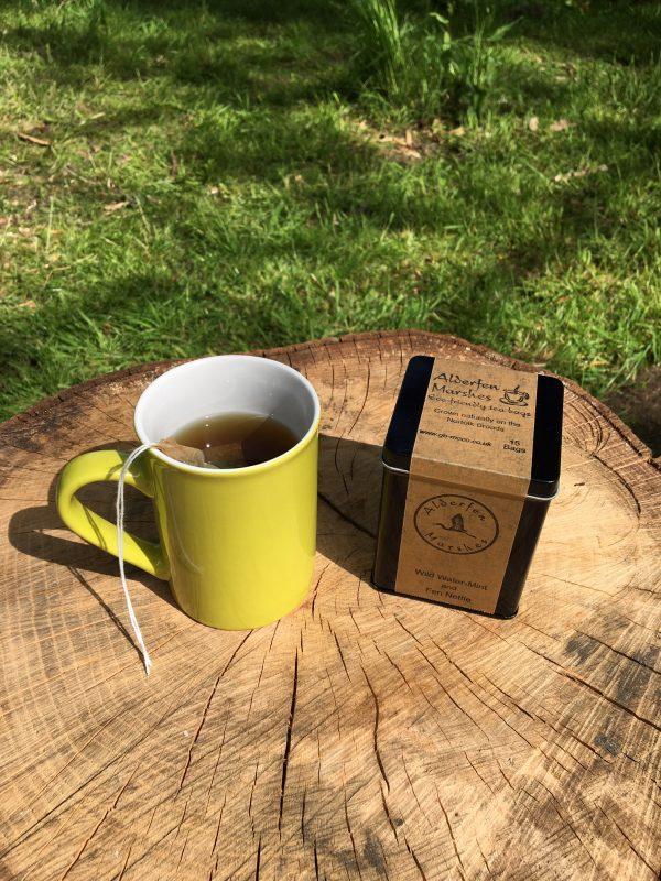 Mug of eco-friendly tea
